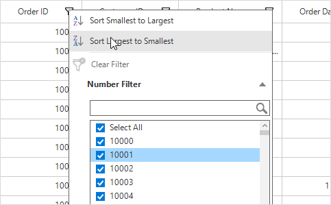 Excel-like filtering in winforms datagrid