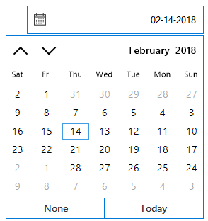 Windows Forms DateTimePicker displays date-time in right to left