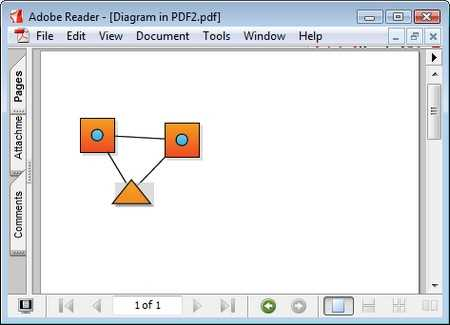 Export diagram as image and pdf in diagram control for WinForms