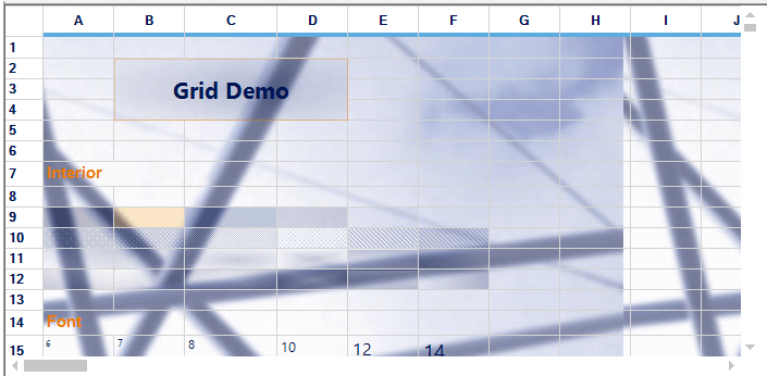 Excel-like WinForms Grid Control | Windows Forms | Syncfusion