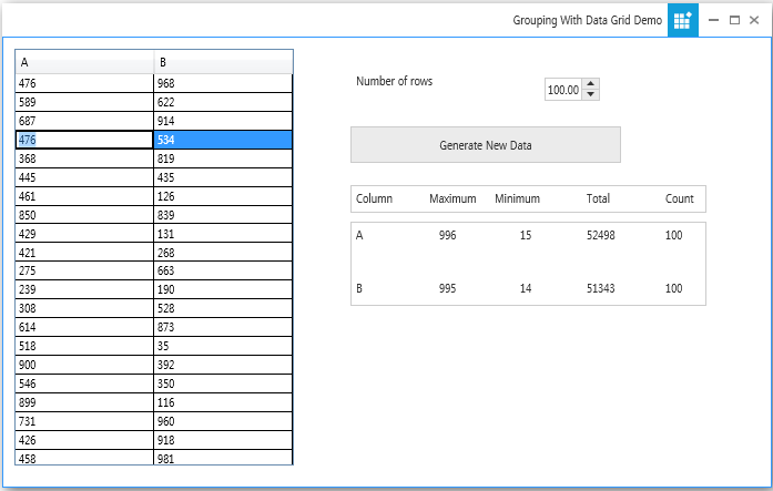 windows forms grouping engine showing data with datagrid