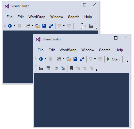 Resizing support in Windows Forms main frame bar manager