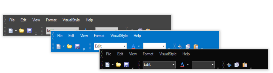 Built-in themes  support in Windows Forms XPToolBar