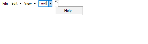 Runtime Support in menu items in Windows Forms XPToolBar