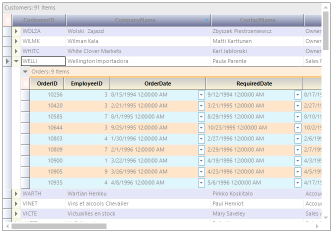 Essential Datagrid For Windows Forms