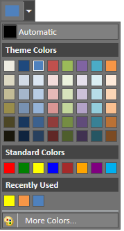 wpf color picker palette in blend theme