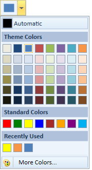 wpf color picker palette in office2010 blue theme