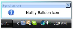 WPF notify icon shapes