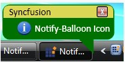 Customized notify icon for WPF