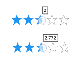 WPF Rating control showing different tooltip precision