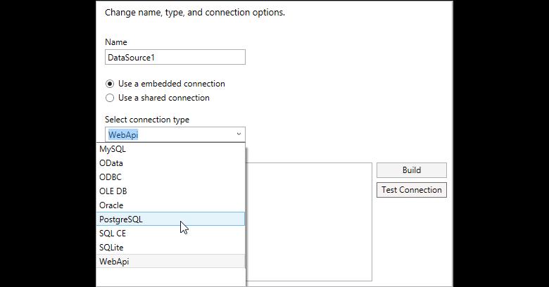 Report Data Source | WPF Report Designer| Syncfusion