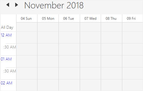 Time label customization in WPF Scheduler