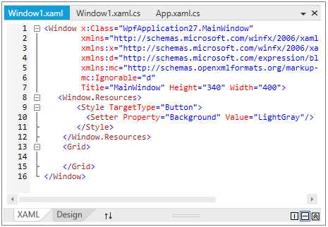 Collapse the bottom view in WPF Tab Splitter