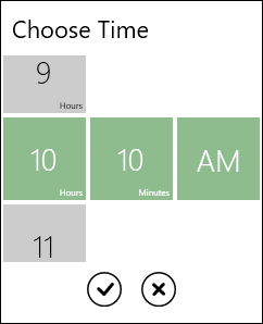 WPF TimePicker Control | Touch-Friendly UI | Syncfusion
