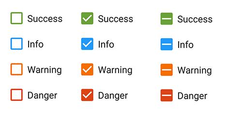 Xamarin Android CheckBox | Tri-state CheckBox | Syncfusion