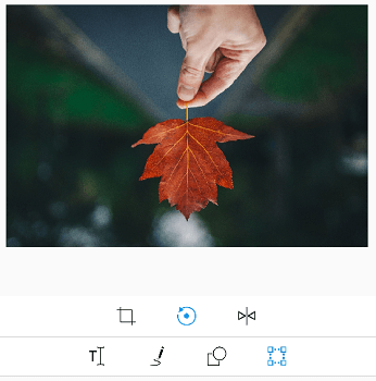 Rotation support for images.