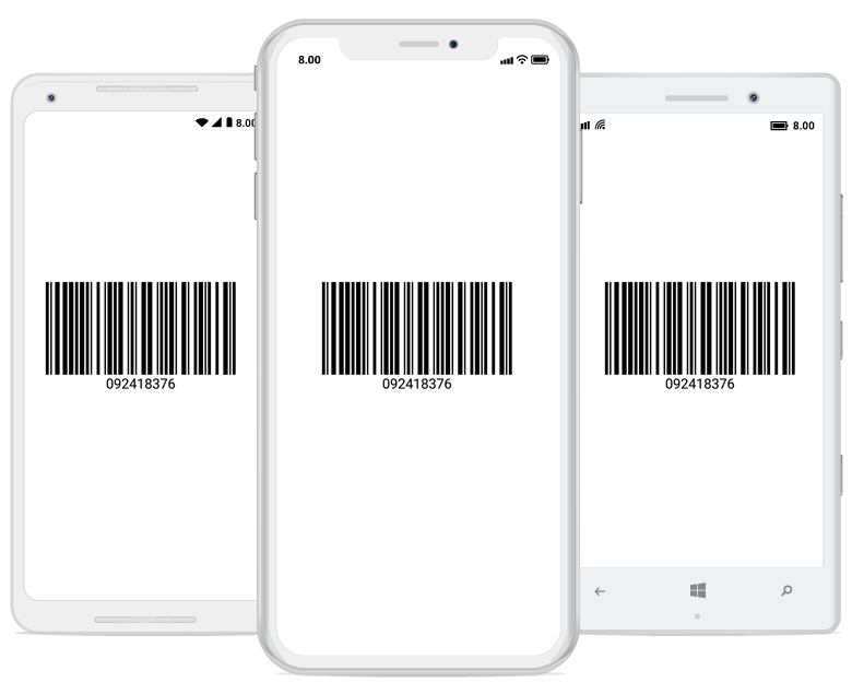 Create or generate 1D and 2D barcodes in Xamarin forms applications