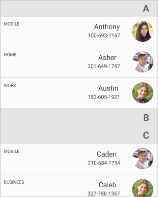 Right to left in the Xamarin.Forms ListView