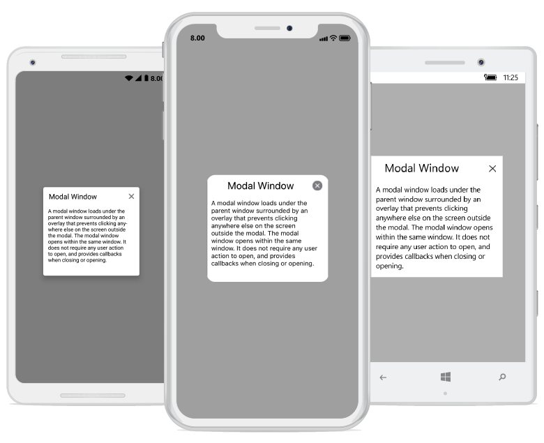 Xamarin Forms Dialog or Pop-up as Modal Window