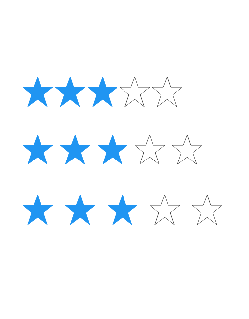 Xamarin.Forms Rating control with customized item spacing