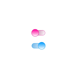 Xamarin.Forms Switch with gradients.
