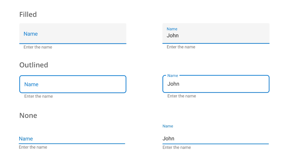 Modernize Entry using Xamarin Forms Text Input Layout | Syncfusion