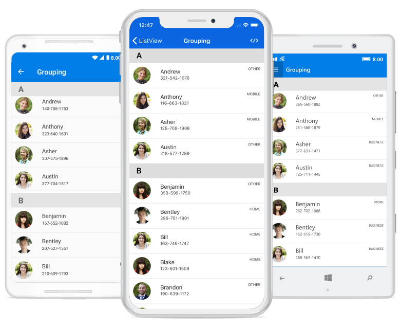 Essential Listview For Xamarin Forms
